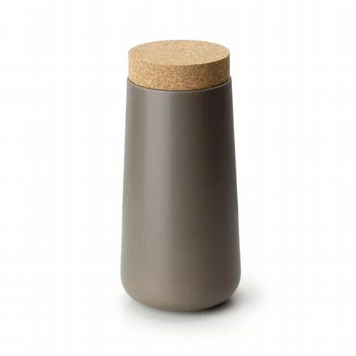 Storage Jar - Tall - Taupe